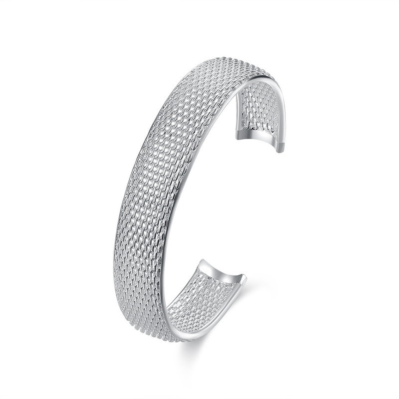 Snack Net 925 Sterling Silver Braclet for Women B102
