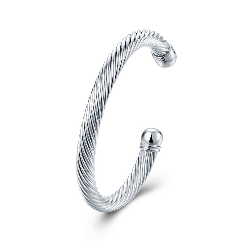 Classic 925 Sterling Silver Graceful Bracelet for Women B030