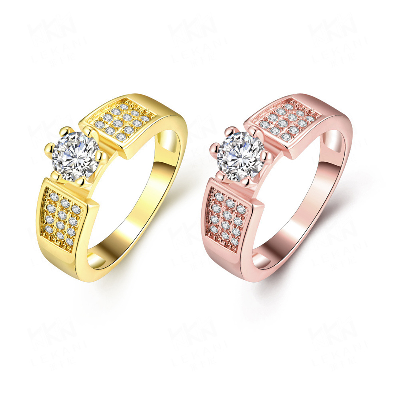 925 Sterling Silver Ring New Women Silver Wedding Rings KZCR332