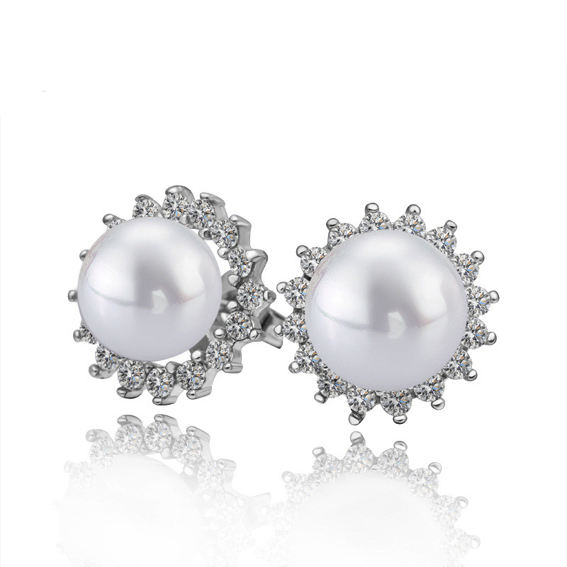 Classic 925 Sterling Silver & Pearl Gift Accessories For Women Girls