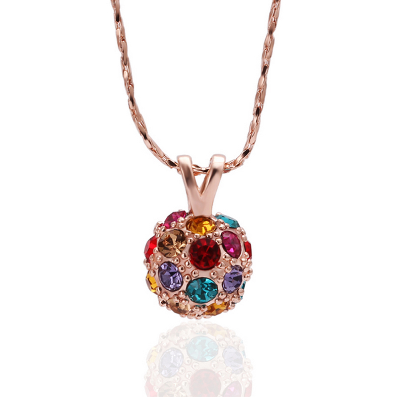 Gold Plated Pendant Floating Lockets Charm Pendants Zircon