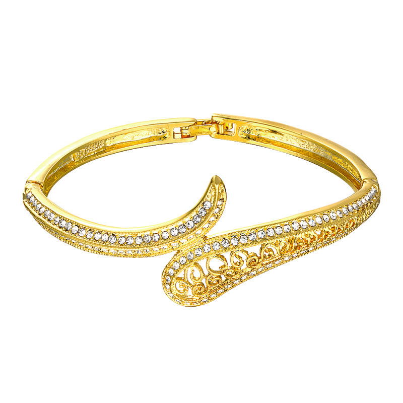 Zircon Bracelets For Women Gold Bracelet Jewelry Z068