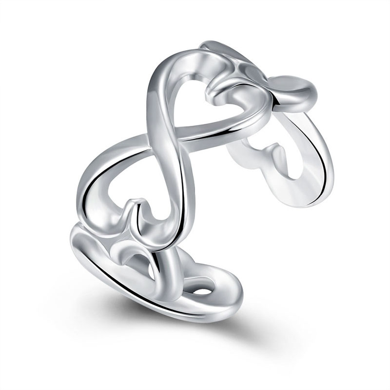 Silver plated New Design Finger Ring for Lady R091