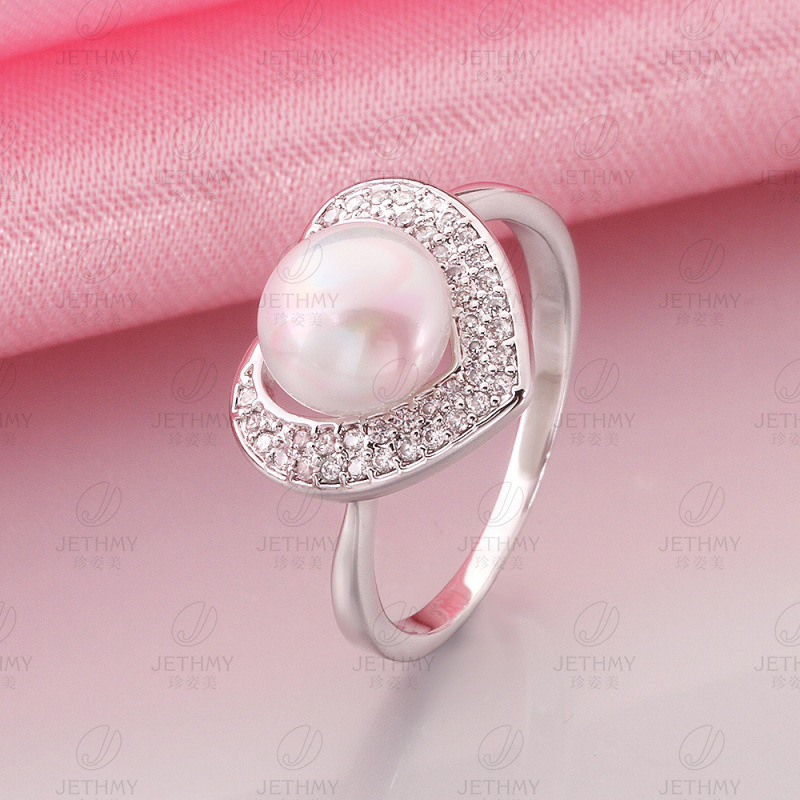 Career Gold Plated & Pearl Gift For Women Dress Accessories