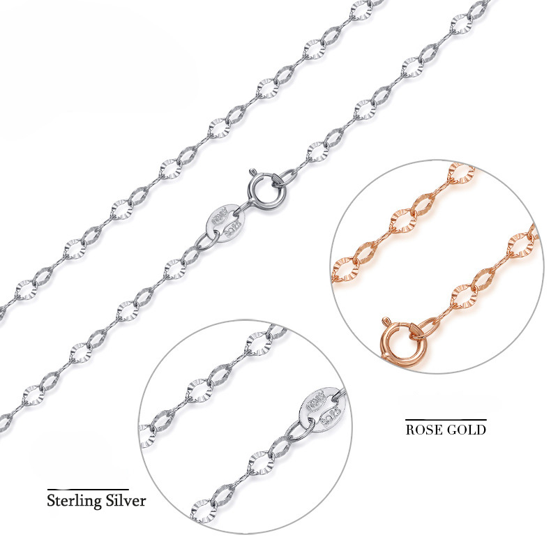 Fashion Style Korean Twisted Pendant 925 Sterling Silver Simple Bracelet