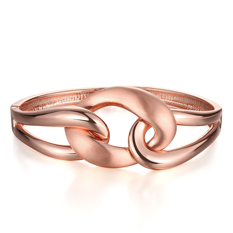 Europe Style Rose Gold Plated Wholesale Braclet for Women