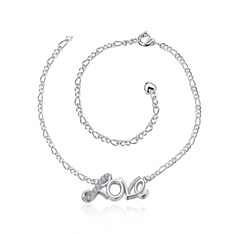 Anklet 925 Jewelry Silver Plated Fashion Jewelry Anklet for Women