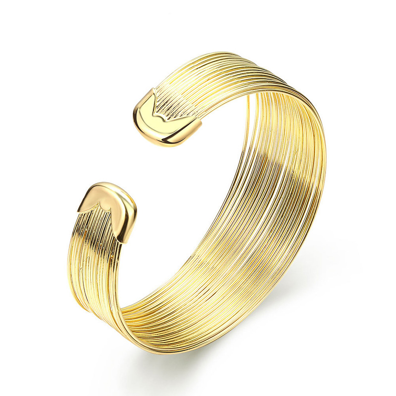Bangle for Women Gold Plated/Plating Bangle Bracelets Jewelry Bracelet New Trendy Accessory