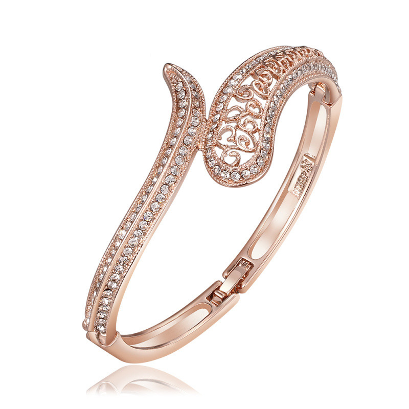 Hot Sale New Gold plated Romantic Bracelets Bangle in Jewelry for Women