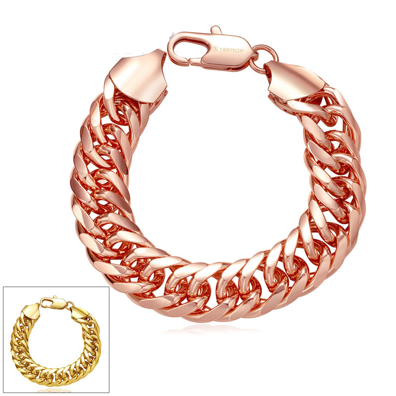 Wholesale Charm Fashion Fake New Gold Bracelet Chain Design For Women