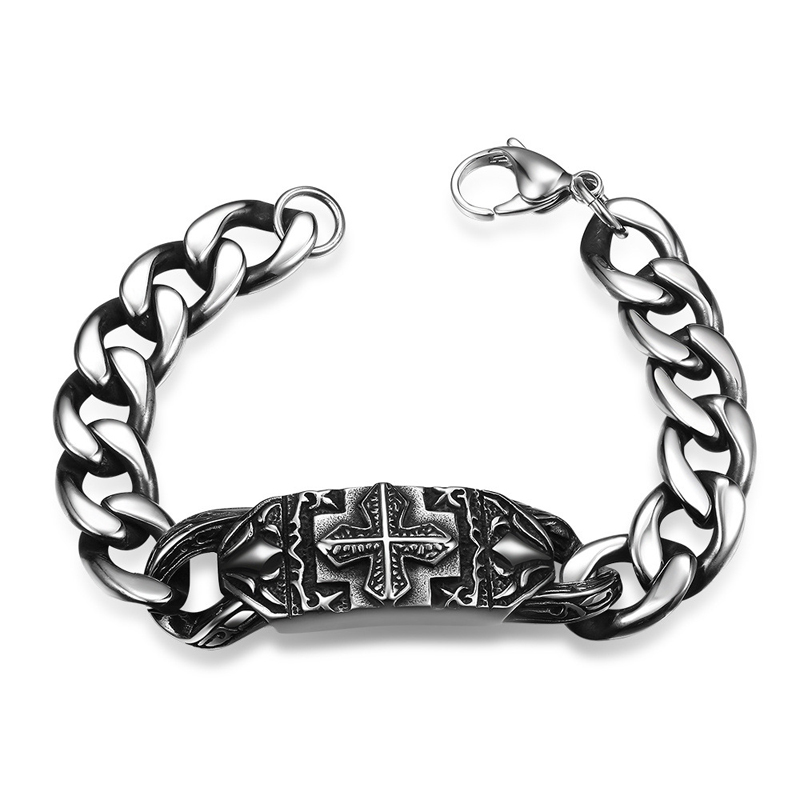 New Cool Punk Bracelet for Man 316 Stainless Steel Man's High Quality jewelry H009