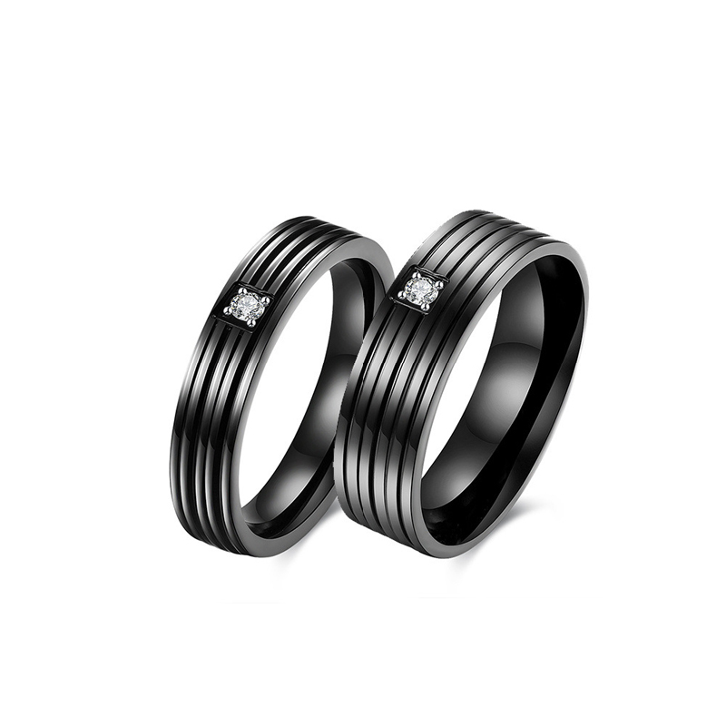 New Designed Classic 316L Stainless Steel Ring Fashion Popular Couple Ring