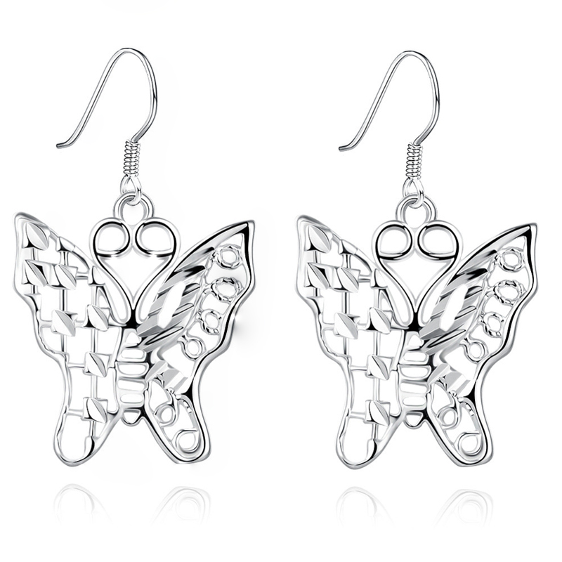Wholesale Hot Sale Factory Price Silver Earrings New fashion jewelry silver plated Popular Earrings