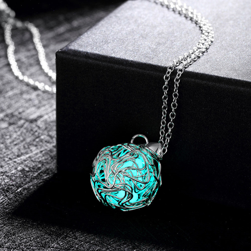 Circular Hollow 925 Sterling Silver Chain Necklace Pendant for Men Jewelry