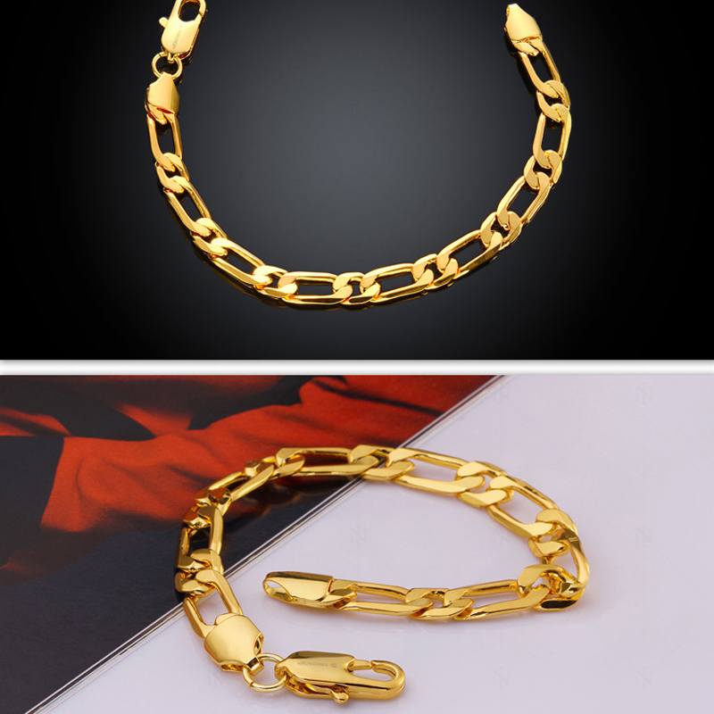 Cheap Price Mens Fashion Bracelet New Gold Hand Chain Fashion Design