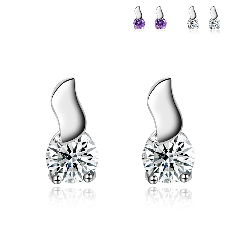 Creative Earrings 925 Sterling Silver Fashion Earrings for Women B049