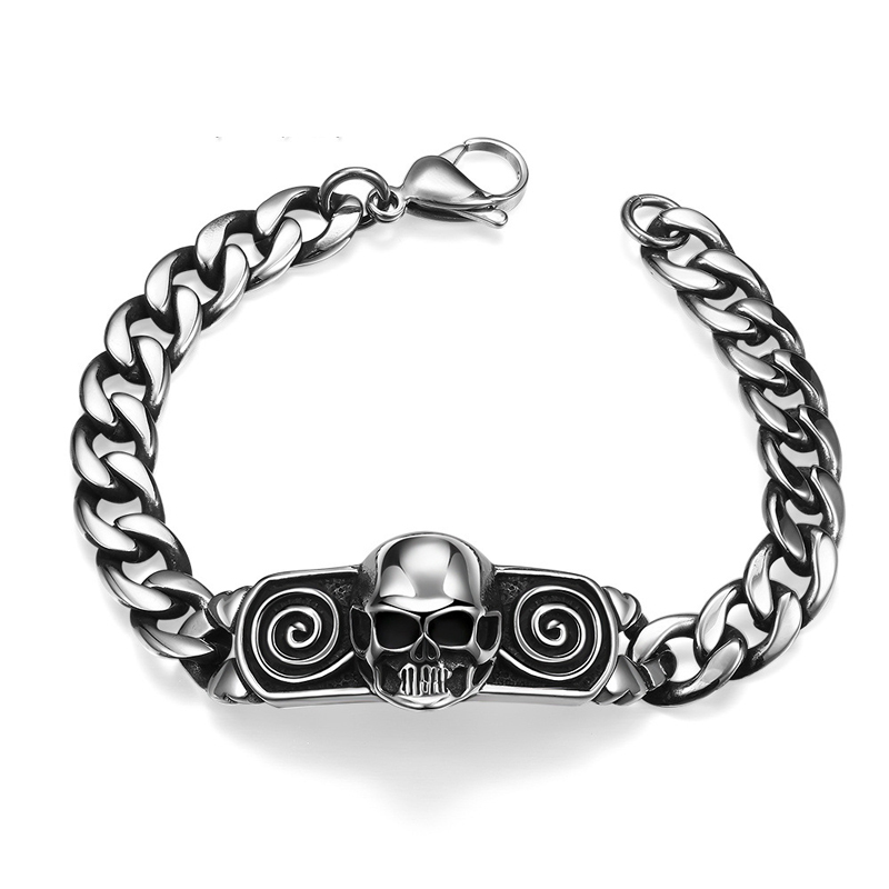 New Cool Punk Bracelet for Man 316 Stainless Steel High Quality Jewelry H003