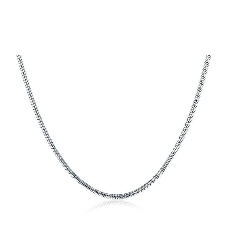 Fashion Design Pendant Snake Necklace 316L Stainless Steel Necklace for Men C010