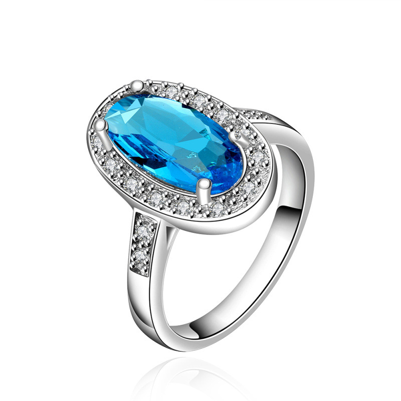 Round Design Ring Dress Accessories Bohemia Style Zirconia Fashion Jewelry For Women