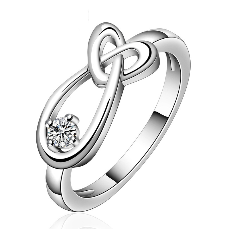 Hot Sale Ring 925 Sterling Silver Ring Factory Prices Fashion Ring for Women