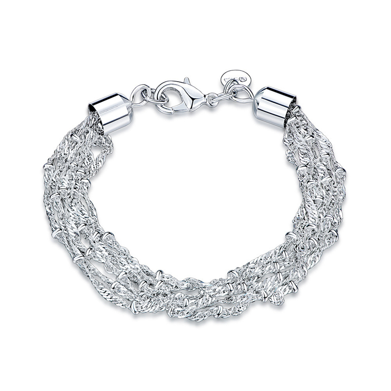 Trendy Jewelry Bracelet 925 Sterling Silver Bracelet for Women