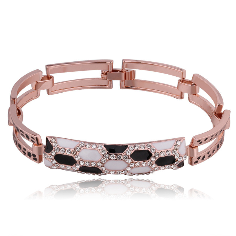 New Arrival Fashion Jewelry Rose Gold plated Bracelet Zircon Bracelet for Women