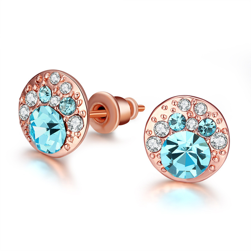 New Fashion Stud Earrings Created Diamond Earrings For Women AKE047