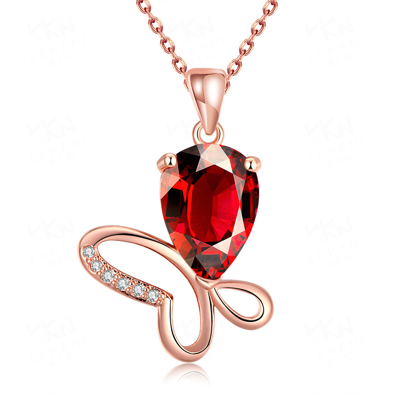 High Quality Zircon Necklace Fashion Jewelry Pendants For Women KZCN095