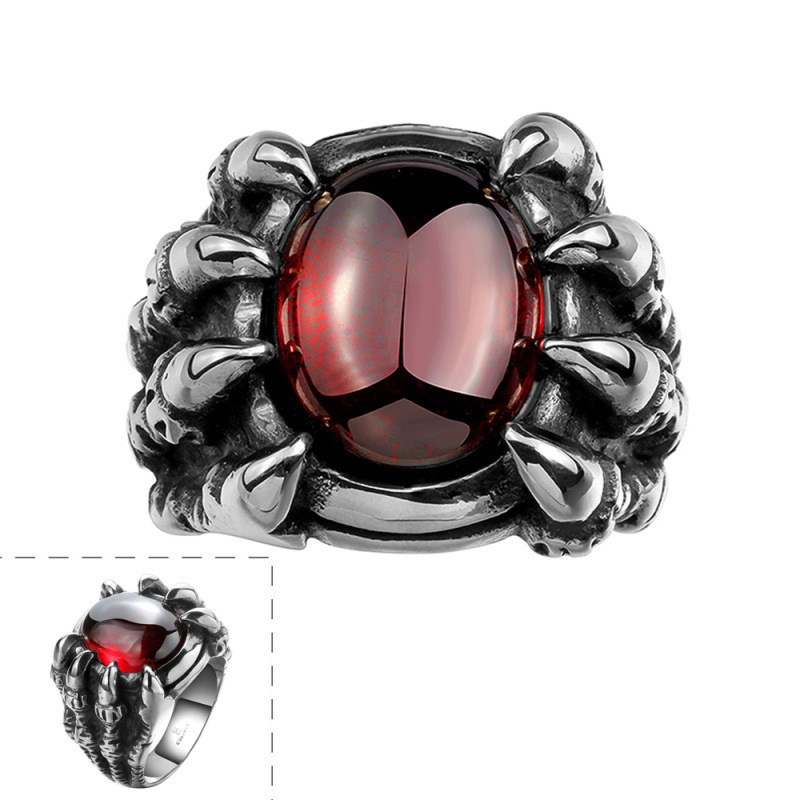 New Style Animal Design Vintage Ring for Men GMYR118