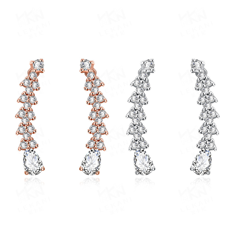 High Quality Created Earrings Diamond Earrings For Women HFE008
