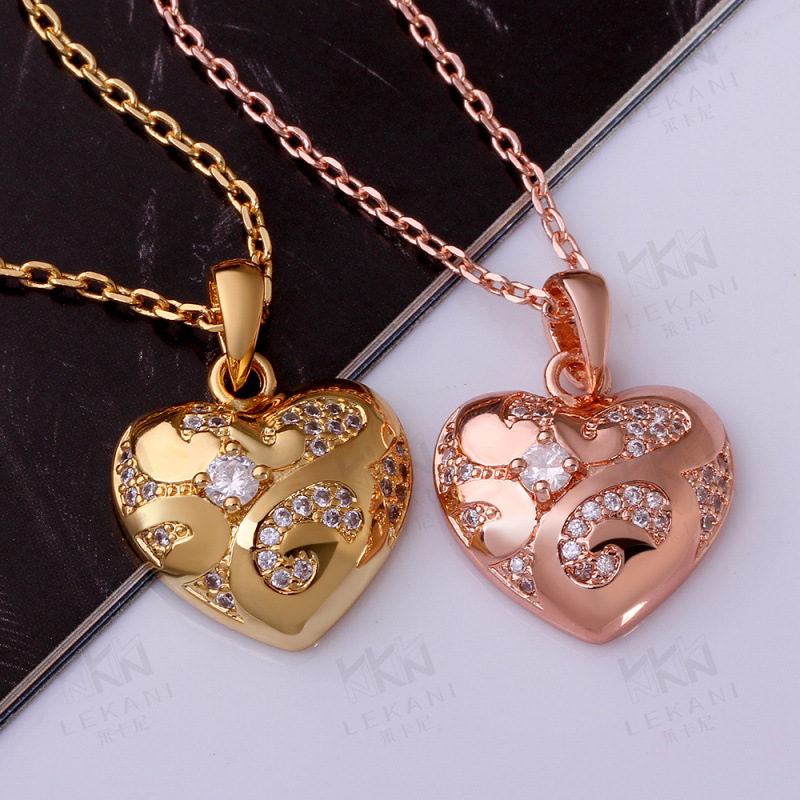 Heart Shaped Pendant Specially Designed For Women KZCN003