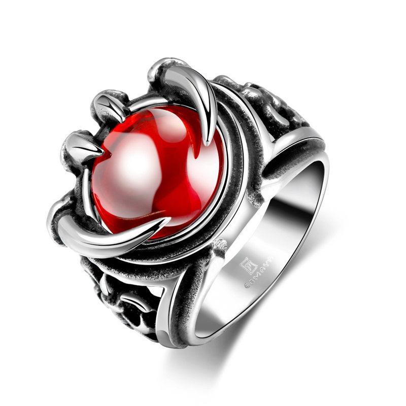 Fashion Jewelry Punk Vintage Ring for Men GMYR188