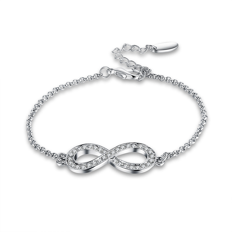 Fashion 925 Sterling Silver Bracelet for Women AKB017