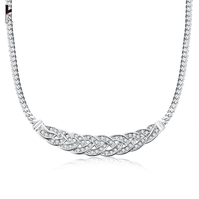 Unique 925 Jewelry Silver Jewelry Necklace For Women AKN003