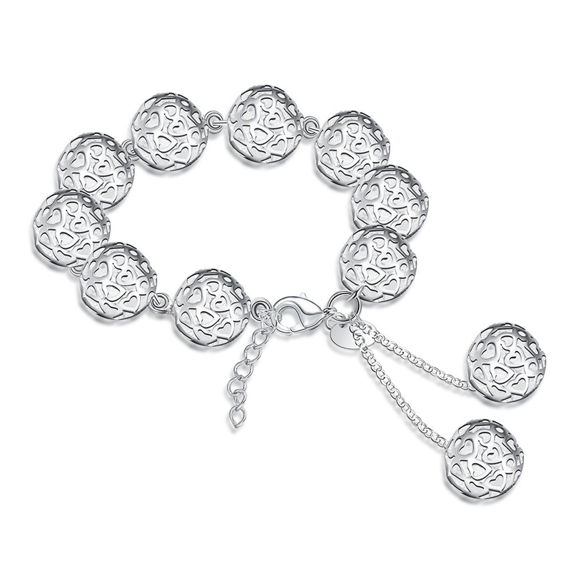 Elegant 925 Sterling Silver Bracelet for Women LKNSPCH088