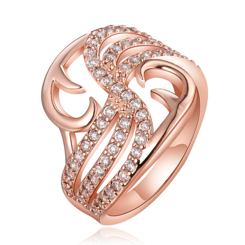 Fashion Luxury Diamond Ring for Women LKN18KRGPR673