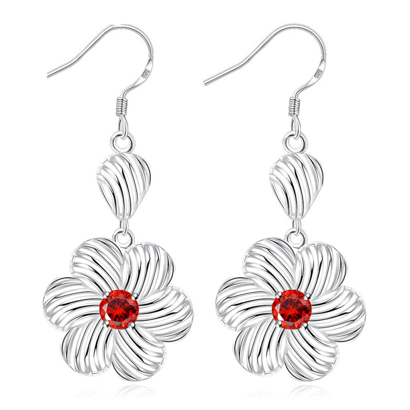 New Flower Jewelry Earrings For Women LKNSPCE737