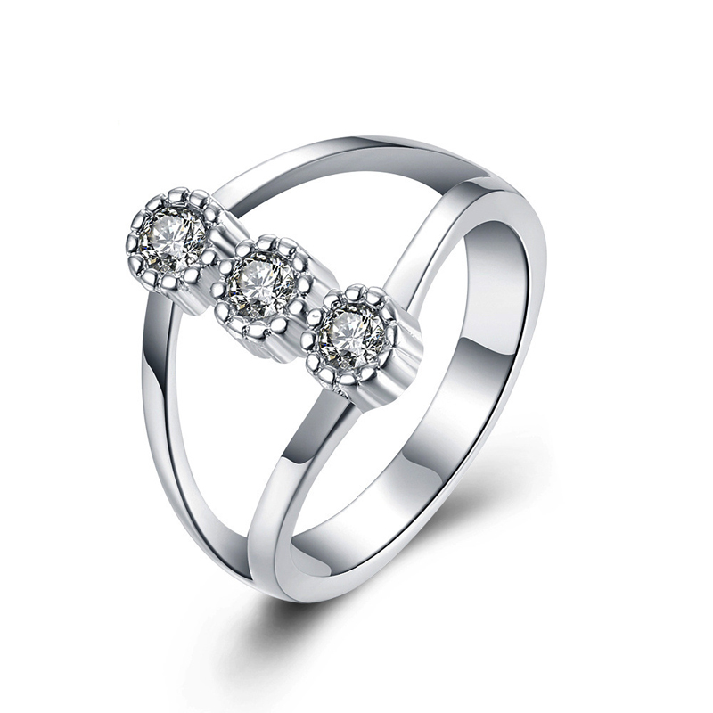 925 Silver Jewelry Engagement Wedding Rings for Women