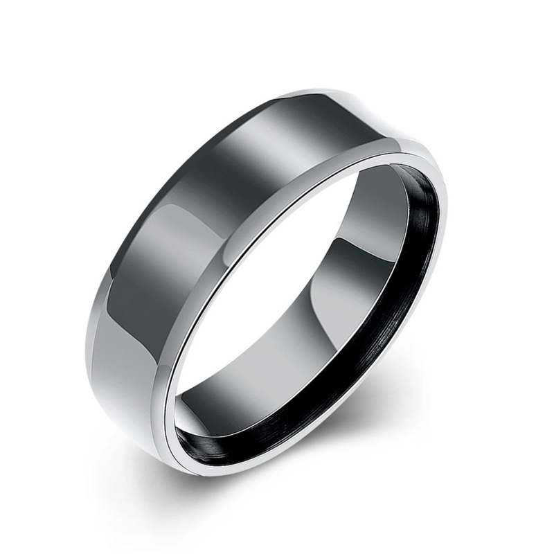 316L Titanium Steel Finger Ring Cool jewelry for Men
