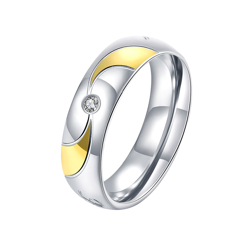 Personality 925 Jewelry Silver Plated Round Ring for Men