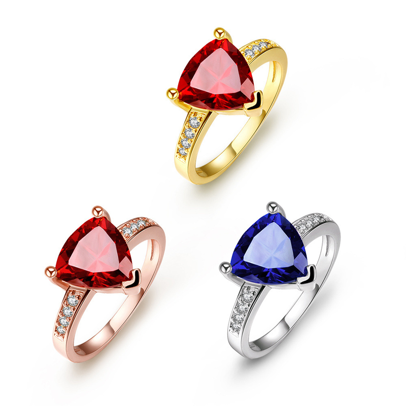 High Quality Gold Plated Rings Fashion Jewelry For Women