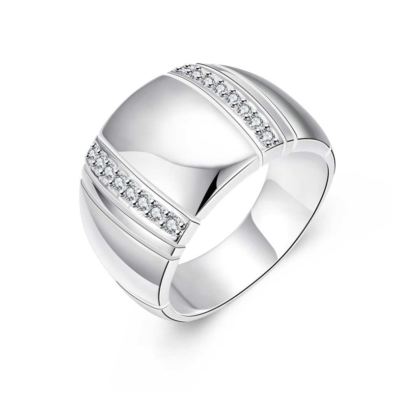 Solid 925 Sterling Silver Fashion Jewelry Special Rings for Women
