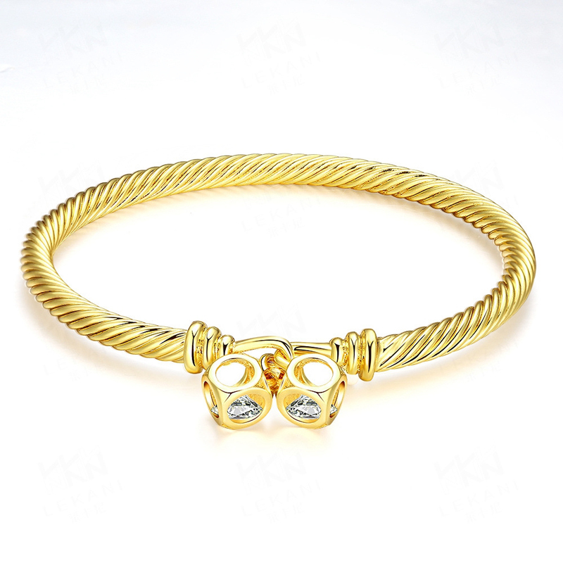 New Arrival Gold Bracelets Good Quality Nickle Free Antiallergic Jewelry For Women