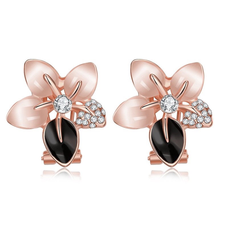 Hot Sale Noble Luxury Antiallergic Earhook Accessories Minimalistic Jewelry For Women Girl