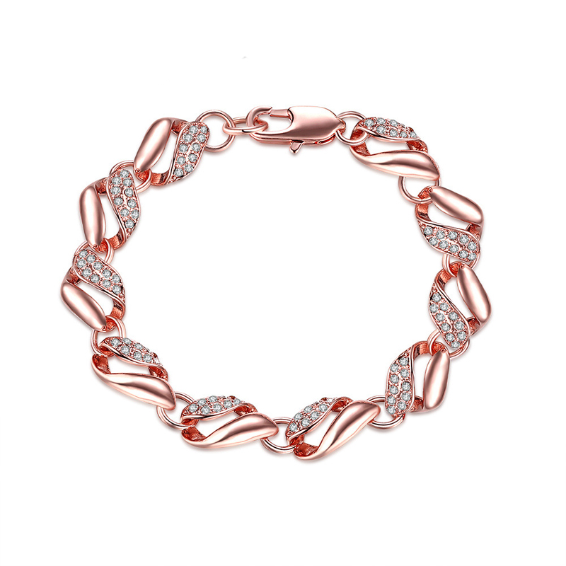 Romantic Crystal Top Quality Bracelet Diamond Jewelry Fashion For Women
