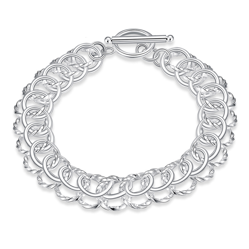 New Design Centipede Bracelet Office Lady Style Silver Jewelry Fashion For Women