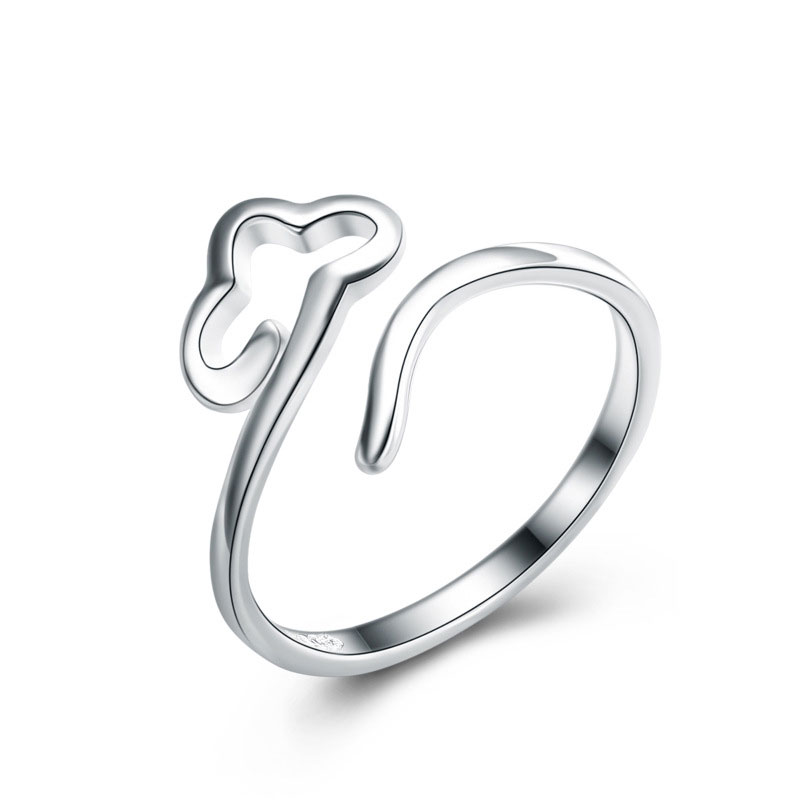 925 Sterling Silver Fashion Cloud Ring Adjustable Ring For Women
