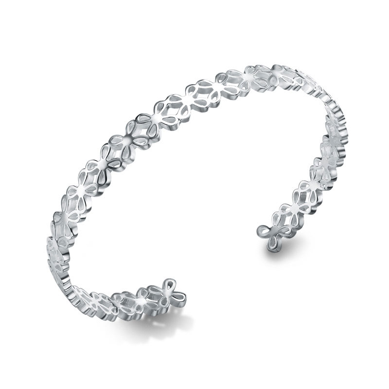 Fashion Beautiful 925 Sterling Silver Adjustable Charm Bracelets