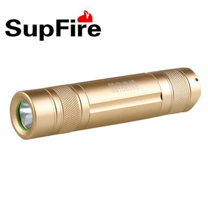 SupFire S7 3W CREE XPE 220lm Professional LED Torch Portable LED Flashlight Waterproof Tactical Flashlight by 18650 Battery