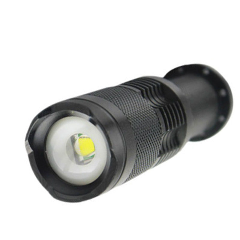 SK98 Portable Lighting LED Flashlight for Camping Caving On Foot